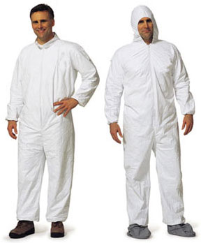 ProMax Coverall w/Attached Hood, Boots and Elastic Wrists #1014