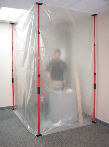 dust shield containment kit