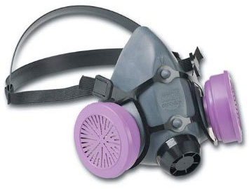 North 5500 Series Half Mask Respirator